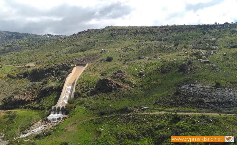 Mavrokolympos Dam Overflowing 3