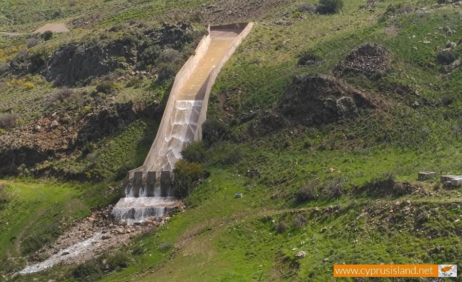Mavrokolympos Dam Overflowing 4