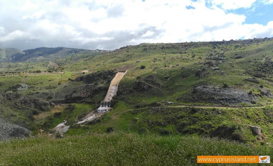 Mavrokolympos Dam Overflowing 5
