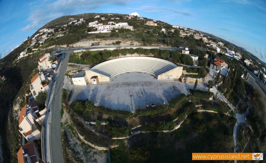 Tala Ampitheatre aerial view