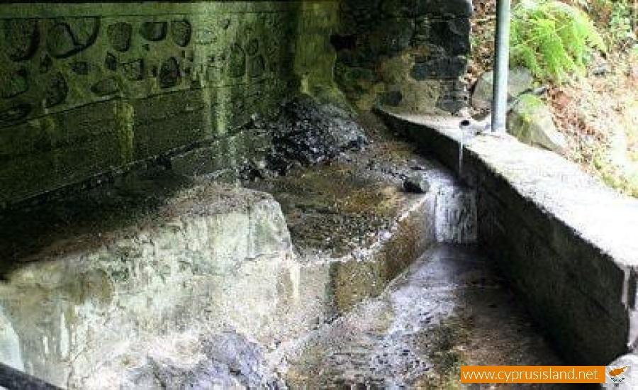 thermal springs kalopanayiotis