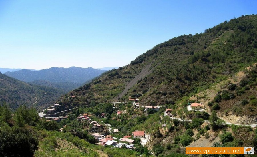 Troodos village