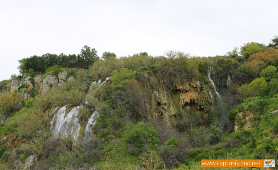 Trozena Waterfalls