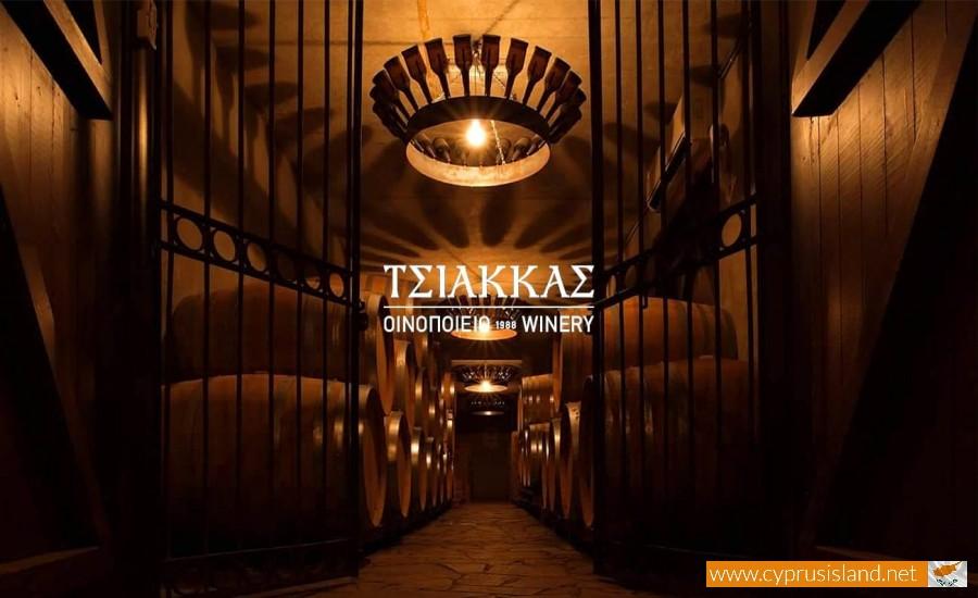 tsiakkas winery cyprus
