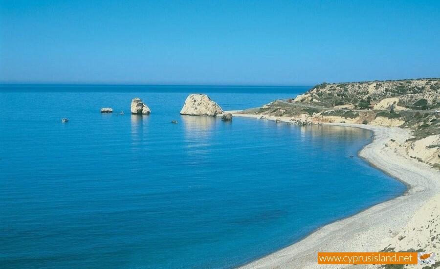 Petra tou Romiou beach Paphos