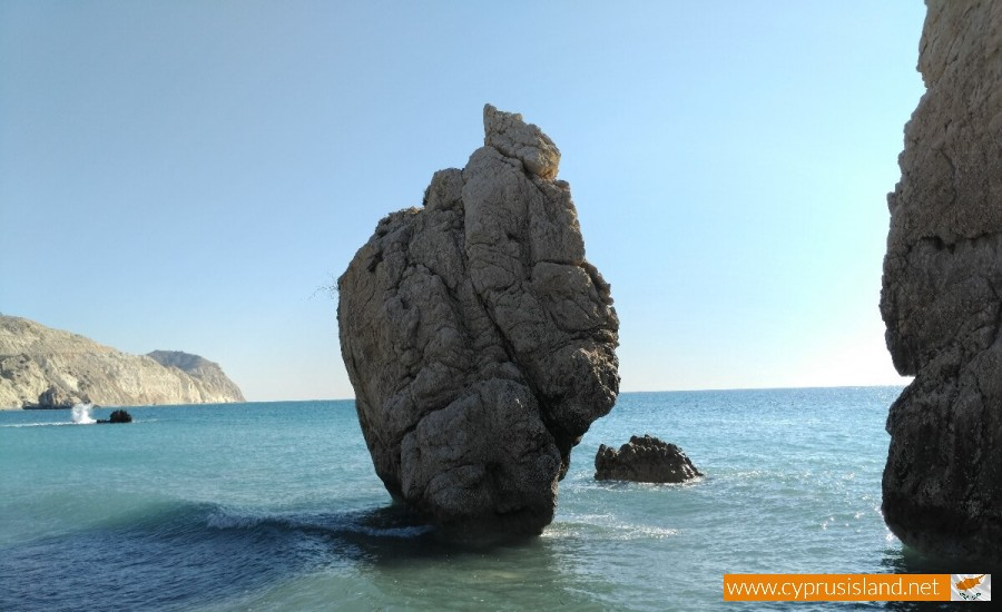 Aphrodites Rock nature wonders