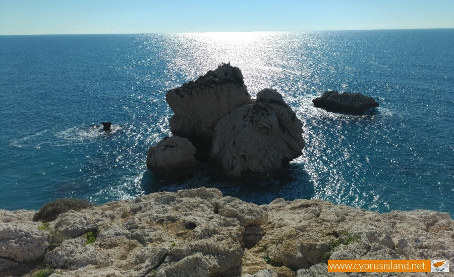 View from top of Aphrodite's Rock 1