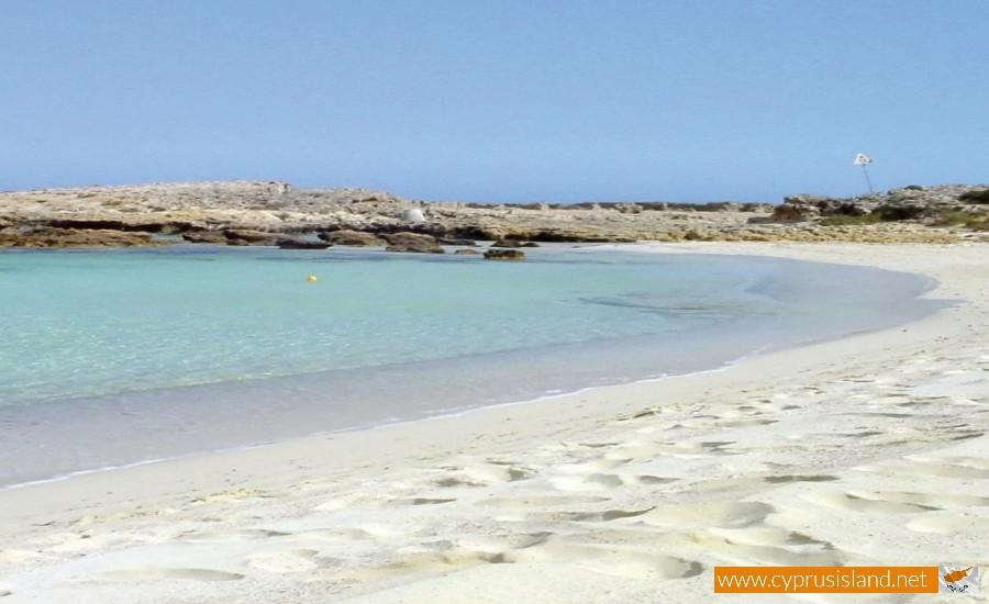 ayia thekla beach cyprus