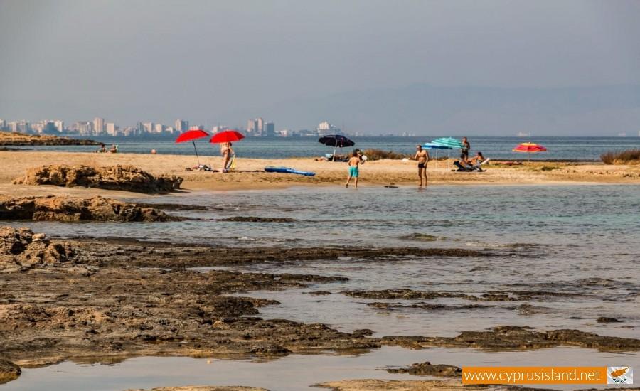 ayia triada beach cyprus