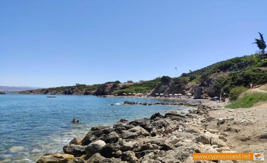 baths of aphrodite beach latsi