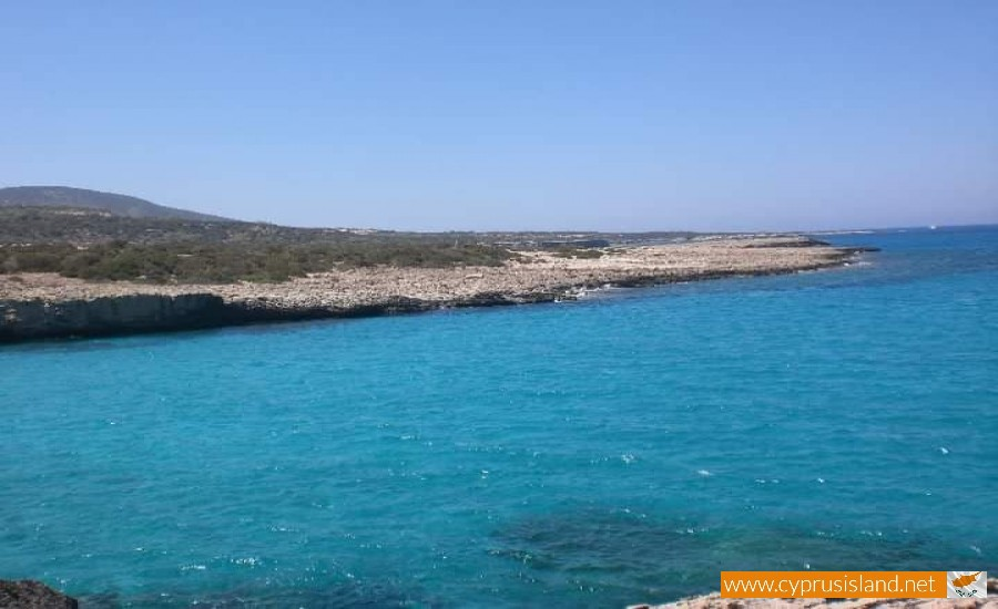 cyprus blue lagoon sea