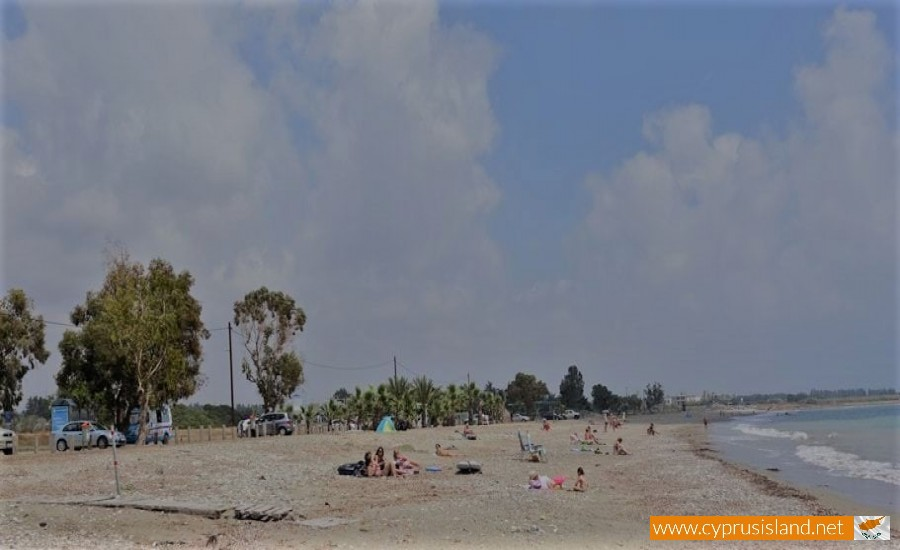 geroskipou beach cyprus