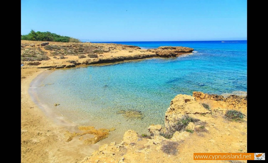 pernera beach cyprus