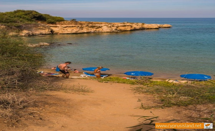 skoutaroi beach famagusta cyprus
