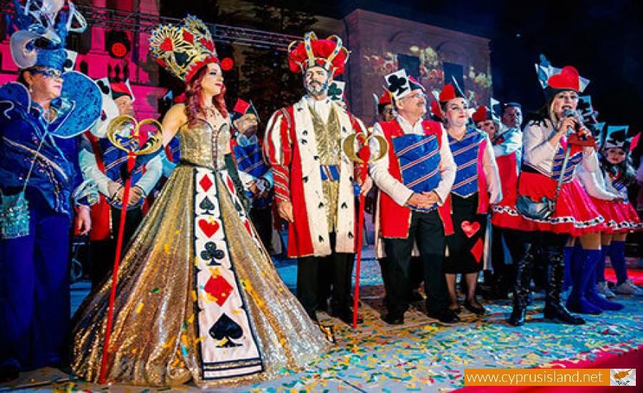 carnival in limassol