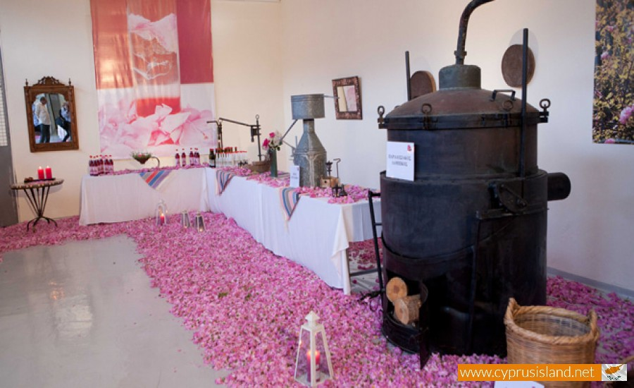 agros rosewater factory