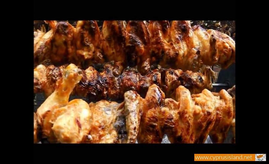 chicken souvla