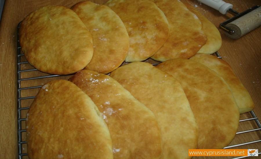 cyprus pitas