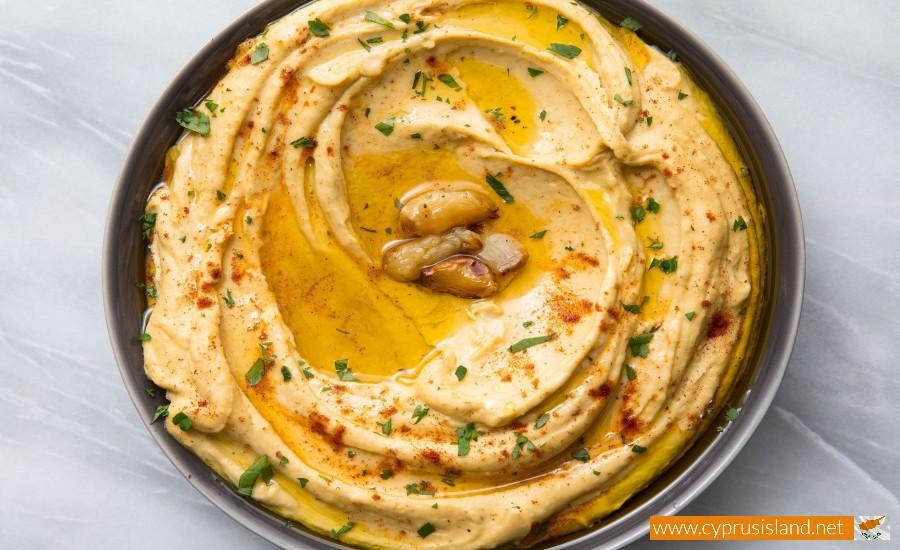hummus dip cyprus