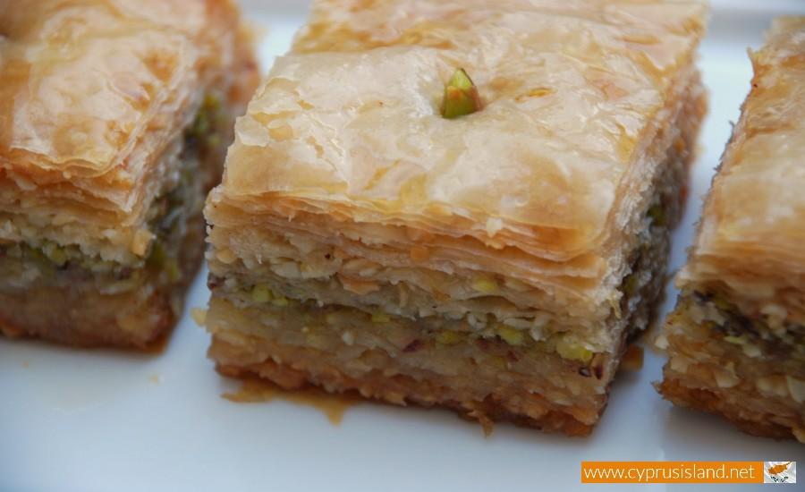 sweet baklavas