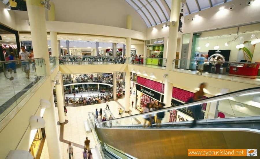 cyprus mall shopping
