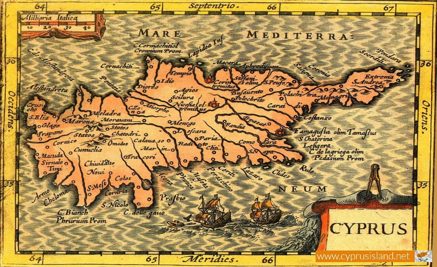 cyprus map old
