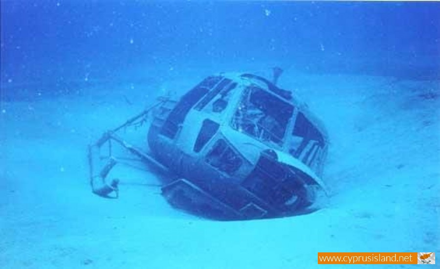 helicopter wreck larnaca cyprus