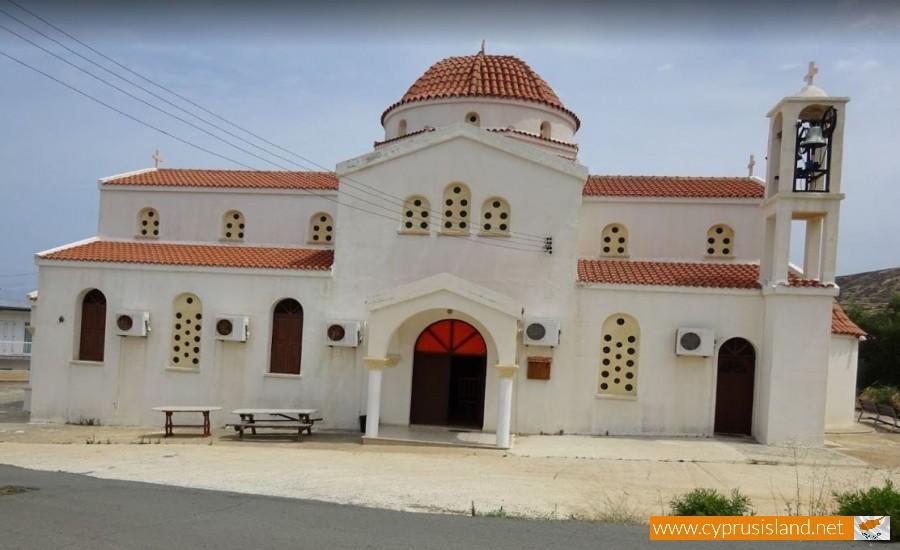 Αγιος Ευψύχιος Church Pomos
