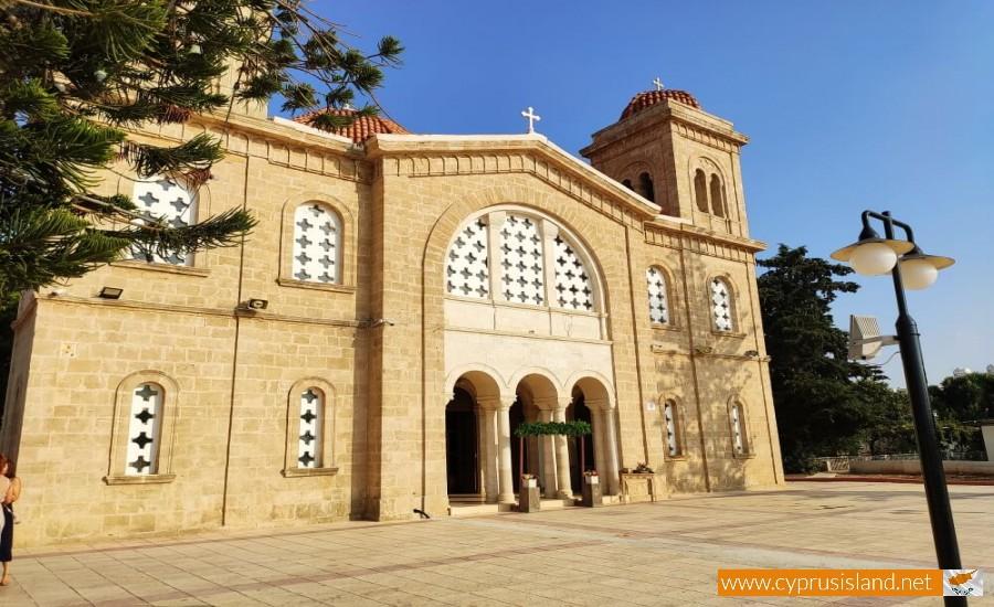 Panagia Chrysoematousa Church, Chloraka