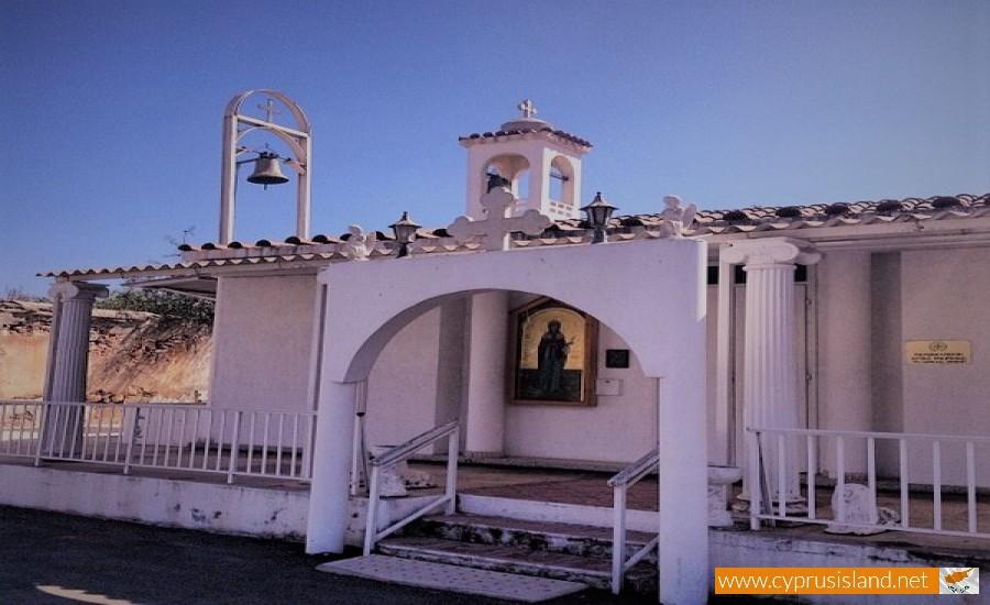 agia marina church paralimni