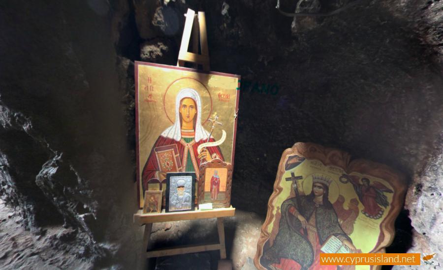 agia thekla cave