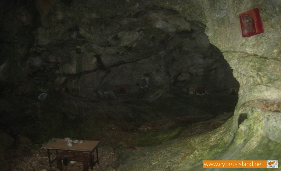 agioi saranta cave xylofagou