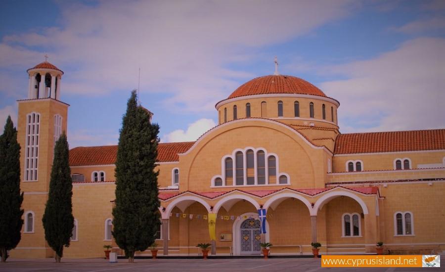 agios georgios church paralimni