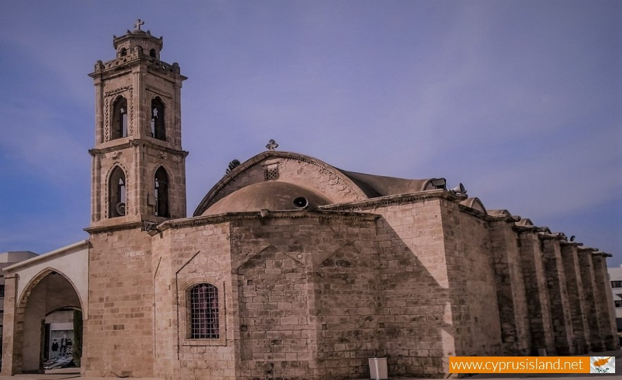 agios georgios church paralimni