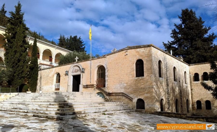 Agios Neophytos Monastery entrance