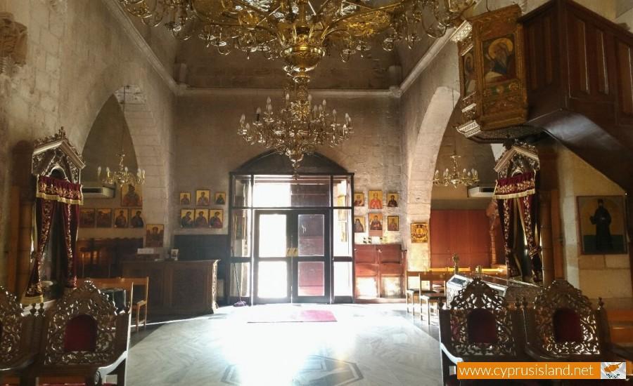 Agios Neophytos Monastery interior