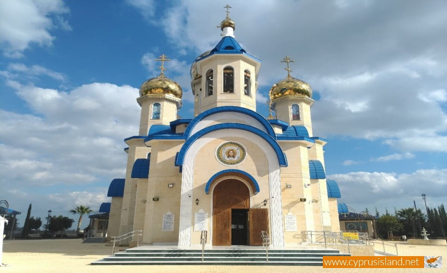 Apostolou Andrea Russian Church front view