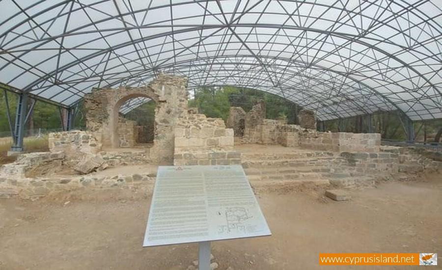 gialia georgian monastery paphos