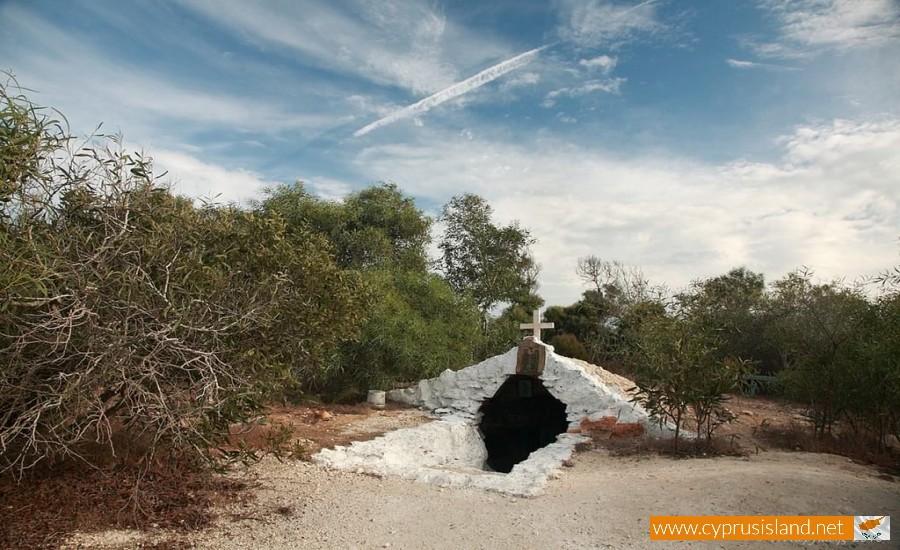 panagia cave xylofagou