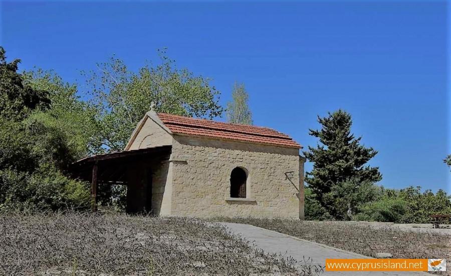 panagia chrysospiliotissa chapel arodes