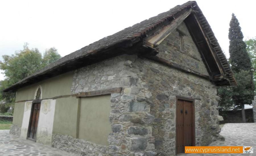 panagia theotokos chapel kakopetria