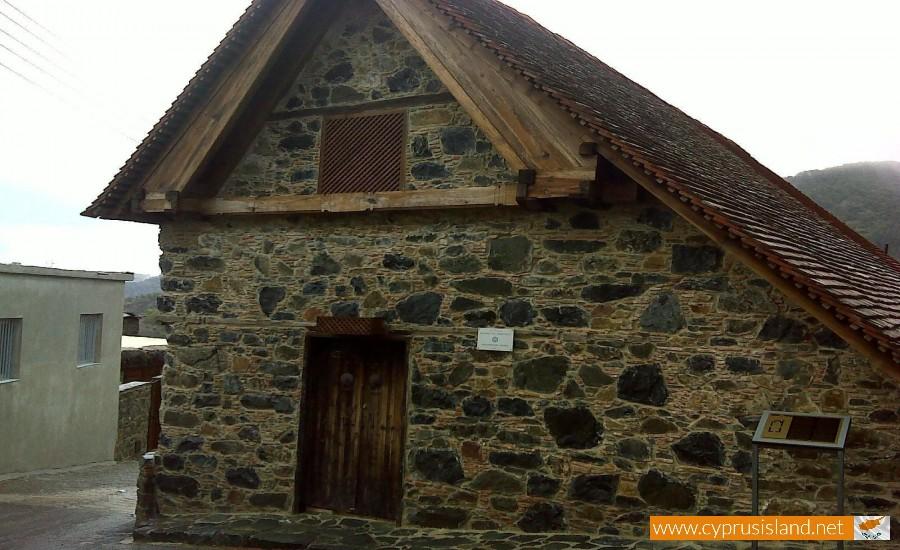 panagia vorini pedoulas village
