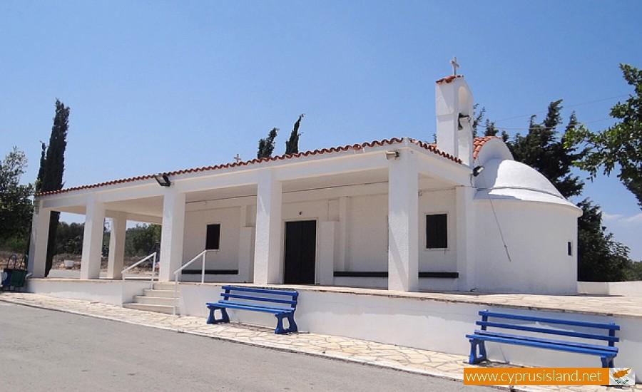 panagiotissa chapel paralimni