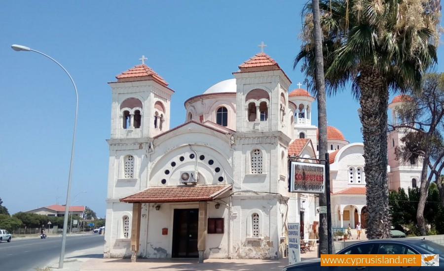 panayia faneromeni church larnaca