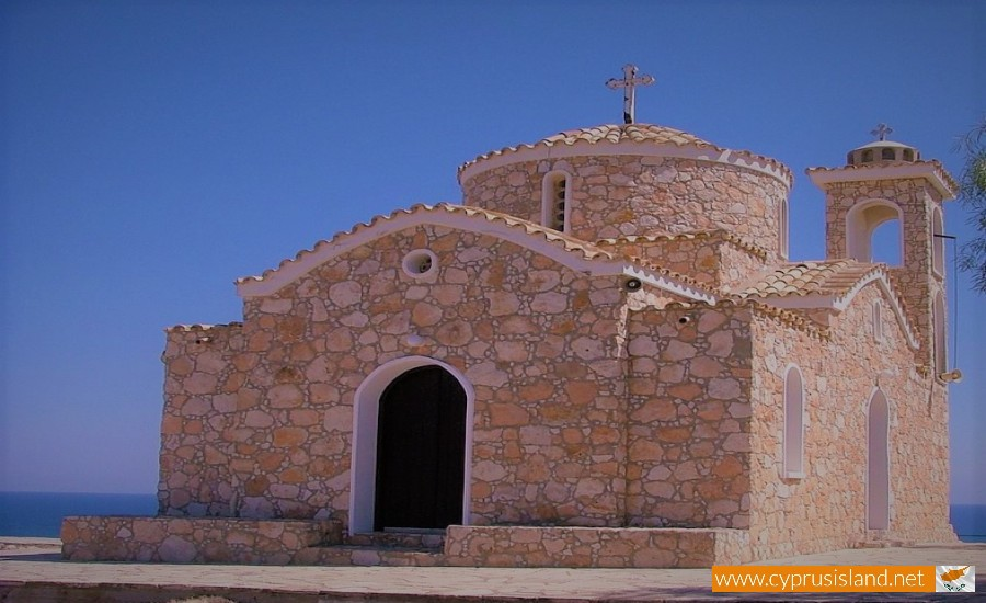 prophet elias chapel protaras