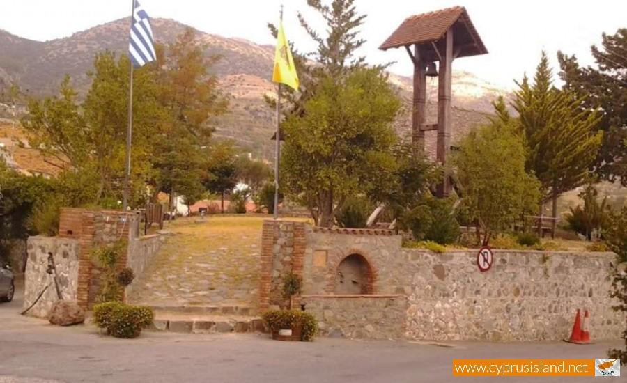 timios stavros kyperounta village