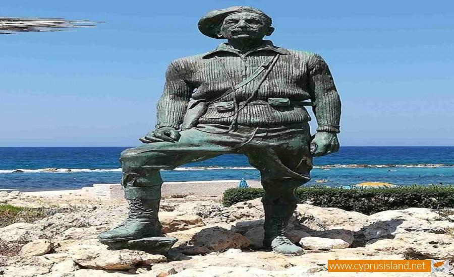 grivas statue