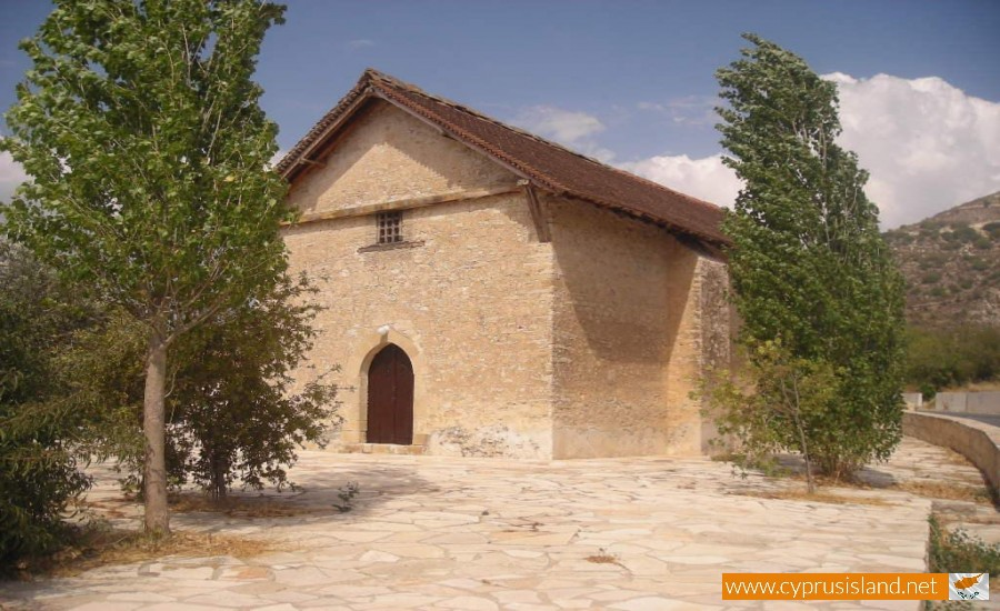 agios antonios church kedares