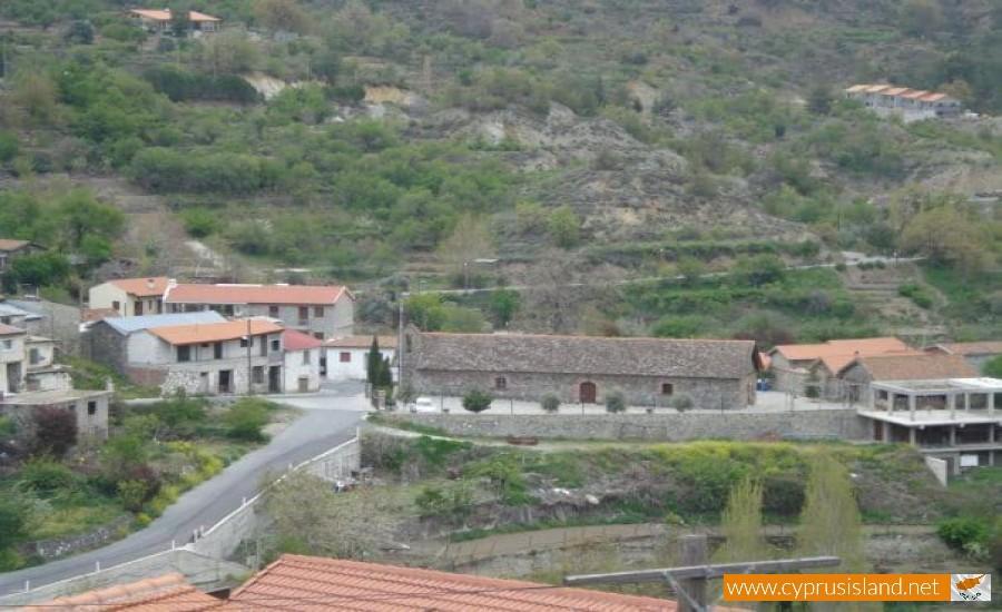 Agros Village in Cyprus