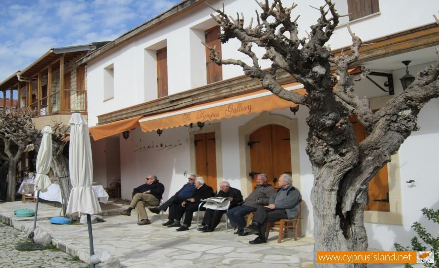 omodos limassol village